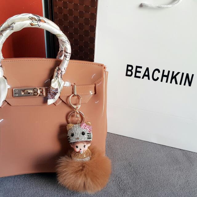 Brown Beachkin Bag