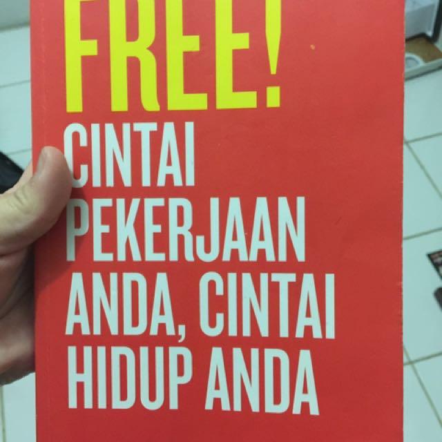 Buku FREE Cintai pekerjaan Anda cintai Hidup Anda