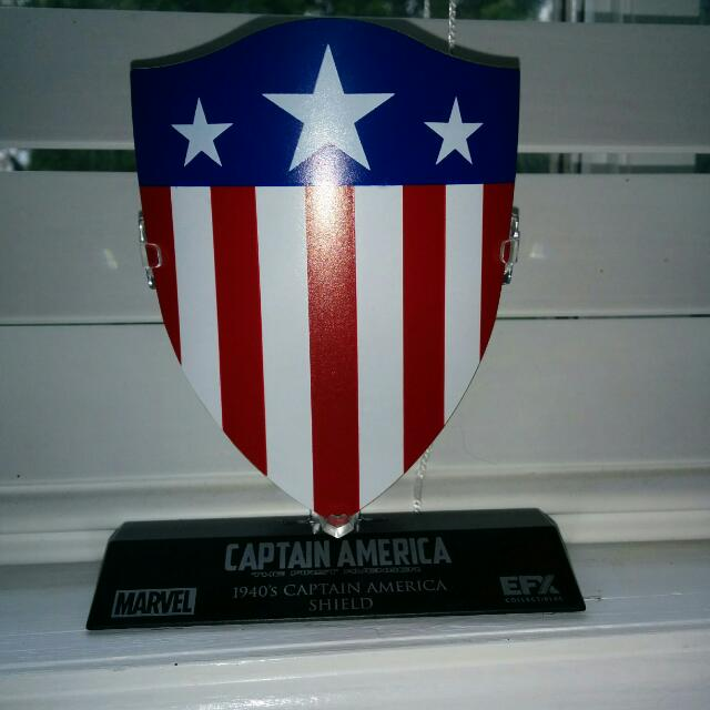 Captain America's 1940's Shield