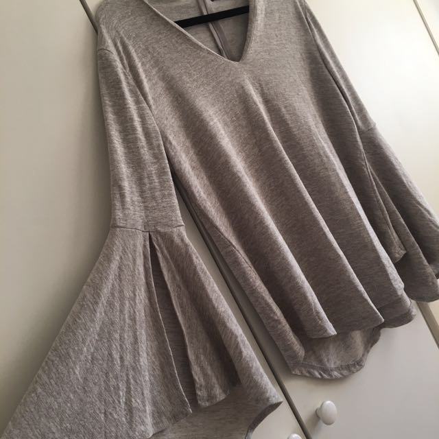 Choker Top With Angel Arms