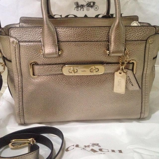 Coach Swagger 27 Gold 99%
