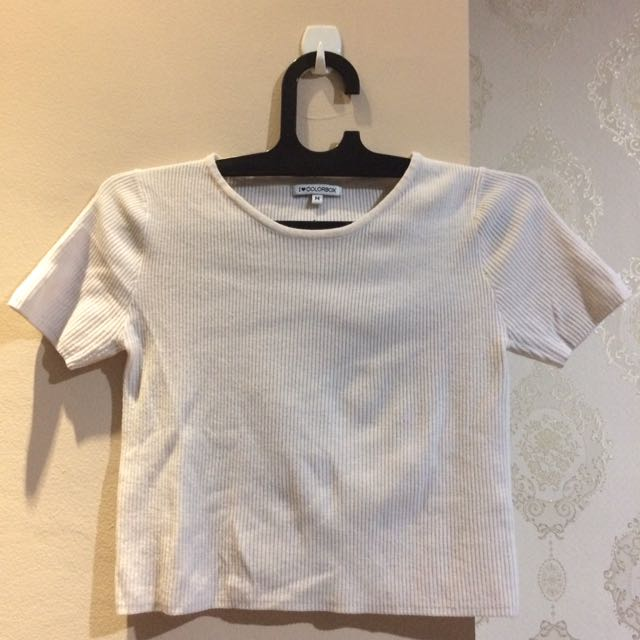 Colorbox Cropped Shirt