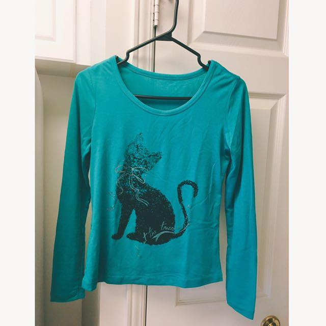 Cute Cat Soft Women/ Girl/ Student Shirt