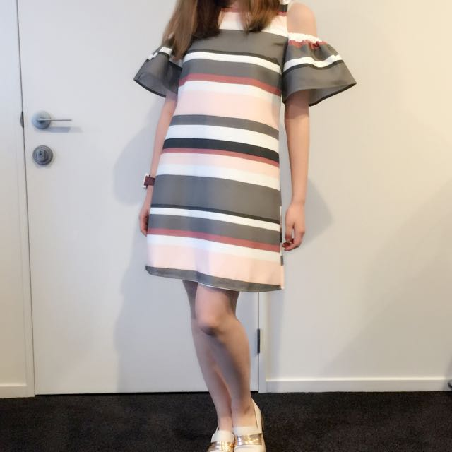 Dotti New Fashion Semi formal Off Shoulder Dress