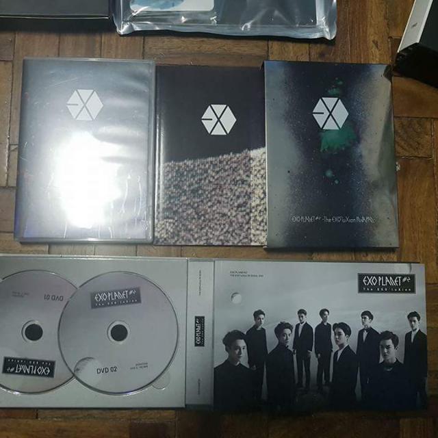EXO EXO'LUXION IN SEOUL & JPN DVD