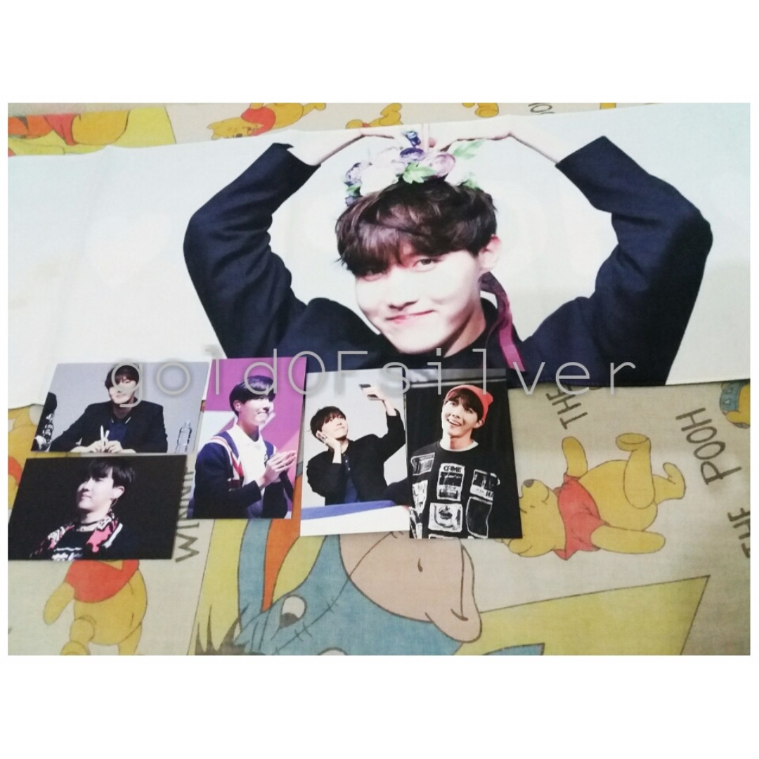 FANMADE JHOPE SLOGAN HOPETENSION 1ST RELEASE