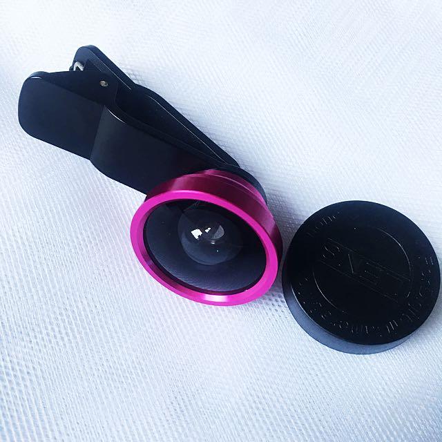 Fish Eye Lens Pink