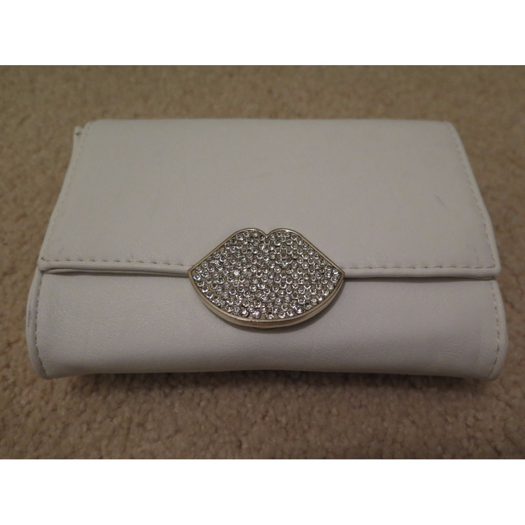 Forever New White Bag Clutch