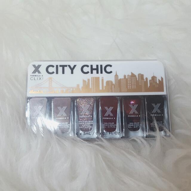 Formula X City Chic Clix Mini Nail Polish Set