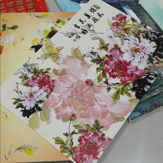 Free Of Charge Greetings Cards By Mouth And Foot Painting Artist Pte Ltd Design Craft Handmade Craft On Carousell