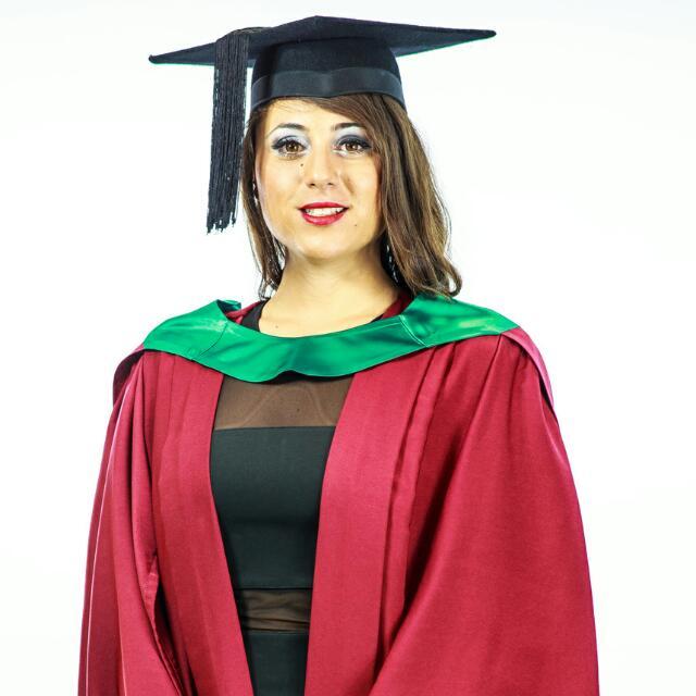 Full Set Of Graduation Regalia For Murdoch University [Science/Green ...