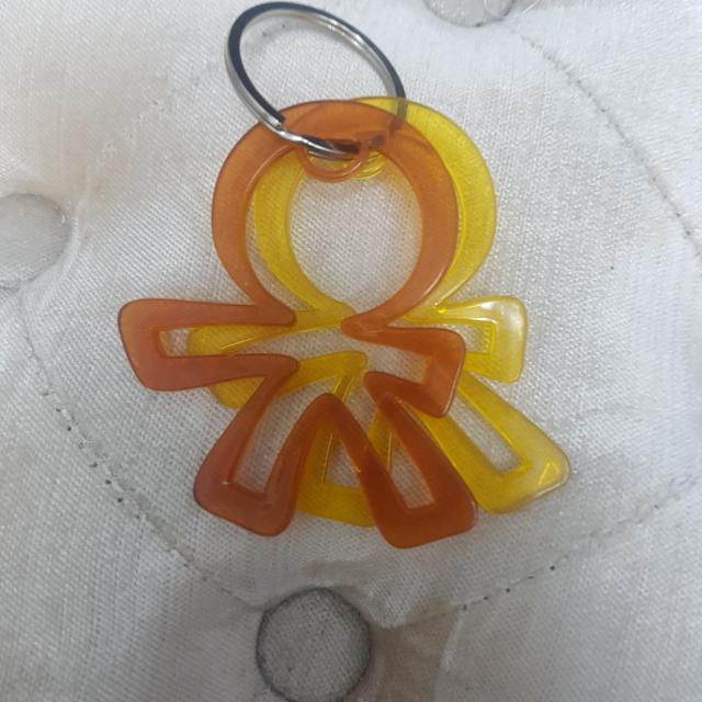 Gantungan Tas Dan Kunci OKIEDOG Aksesoris KEY Diaper BAG Logo