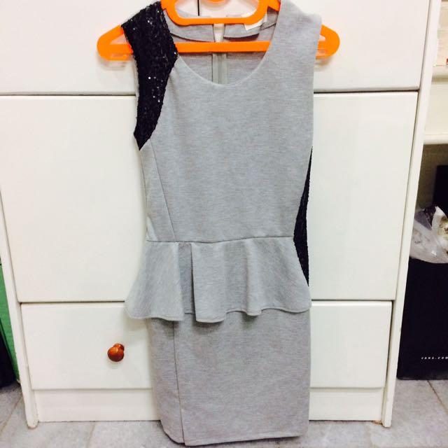 GAUDI : Half Peplum Dress