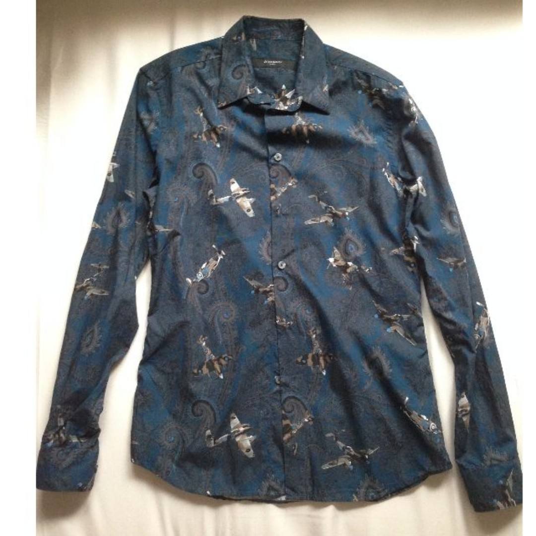 Givenchy Blue Jet Fighter (100% Authentic)