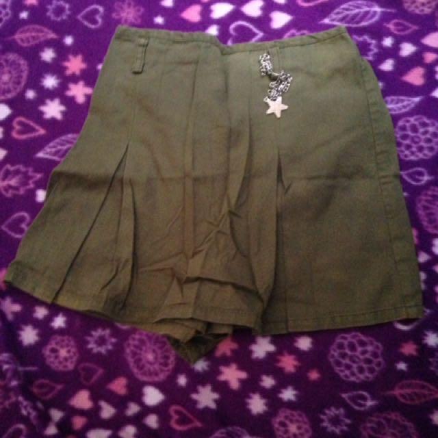Green Miniskirt