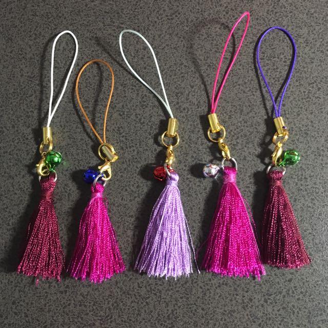 Handmade Tassel Keychains