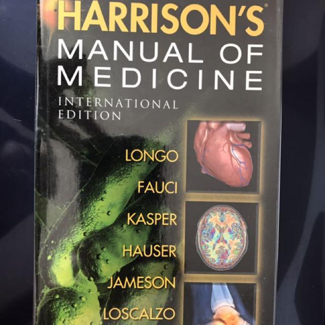 harrison s manual of medicine 18th edition international edition rh ph carousell com harrison's manual of medicine 18th edition pdf download