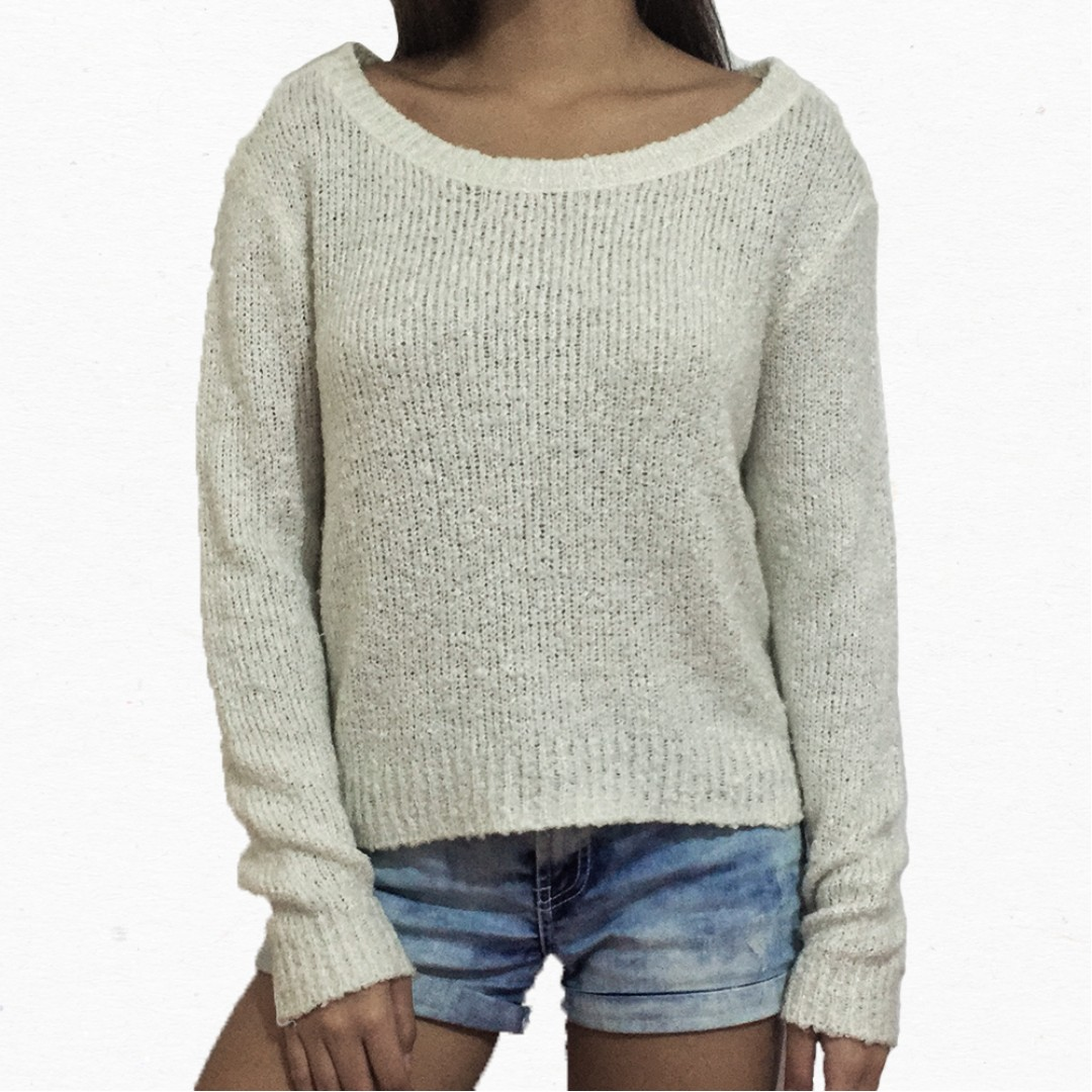H&M Fuzzy Knit Sweater