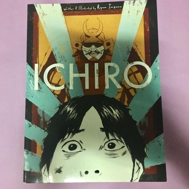 Ichiro - Graphic Novel By Ryan Inzana
