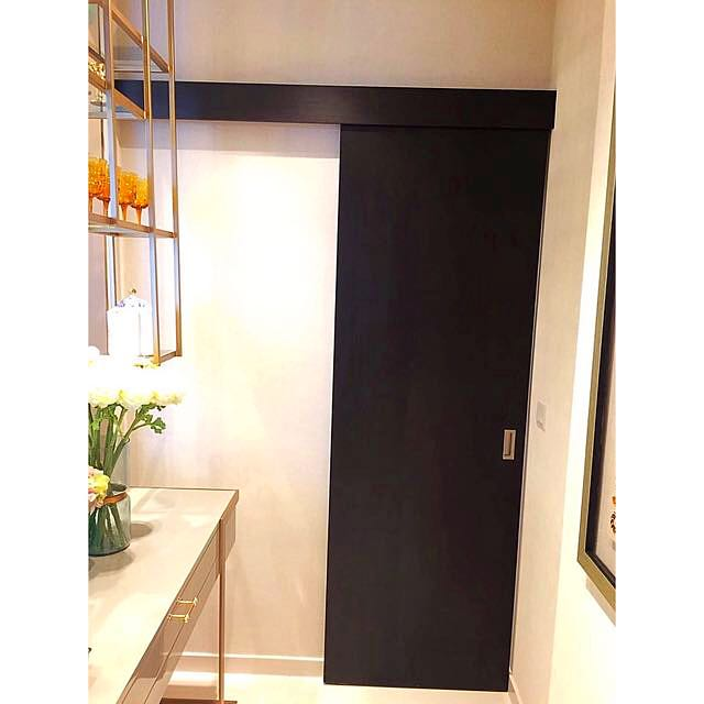 Interior Wooden Sliding Doors With Frame Ideal For