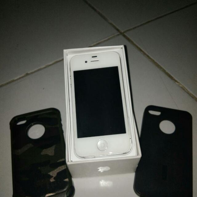 IPHONE 4S 16 Gb white (refresh harga)