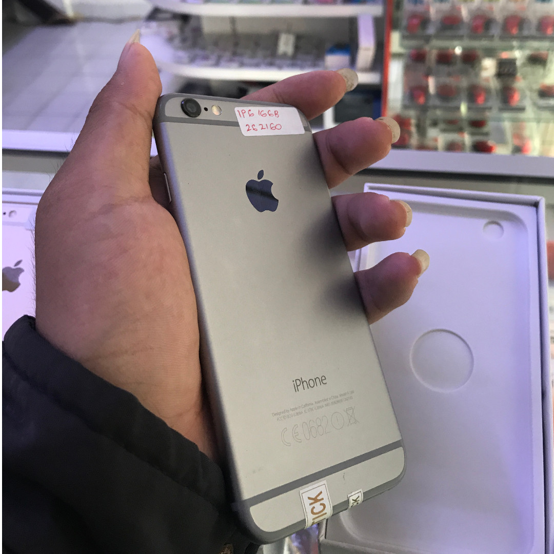 Iphone 6 16GB Gray Ex Internasional Silent Camera 100% Original ... 66dc24226b