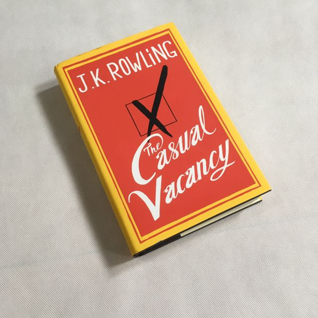 J.K. Rowling Casual Vacancy Hardcover (english)