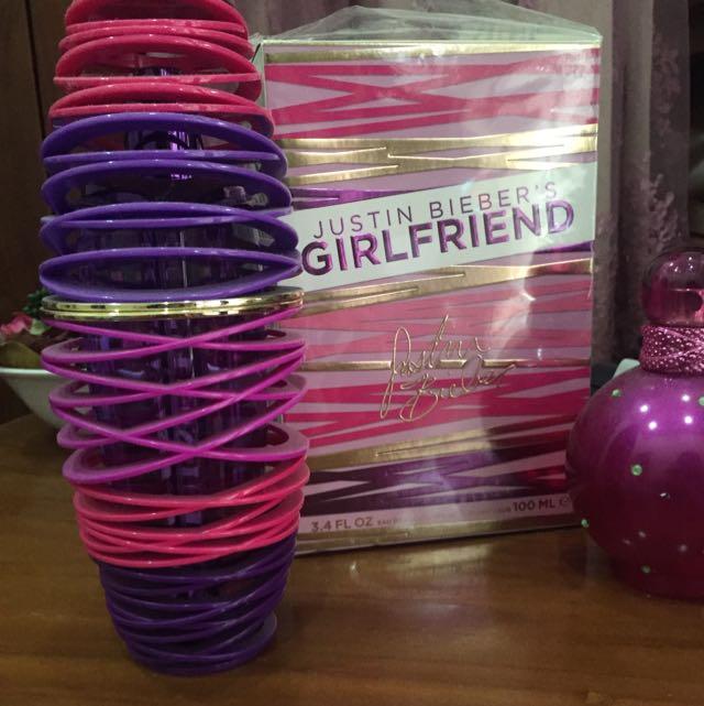 Justin Bieber's Girlfriend Parfume