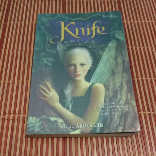 Knife By RJ Anderson