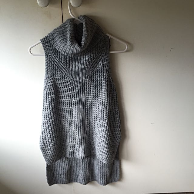 Knitted Sleeveless Top M/L