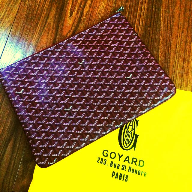 Goyard Laptop Bag