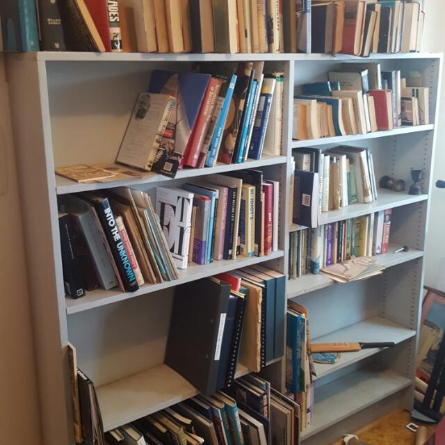 #thecafe Large Grey Bookshelf
