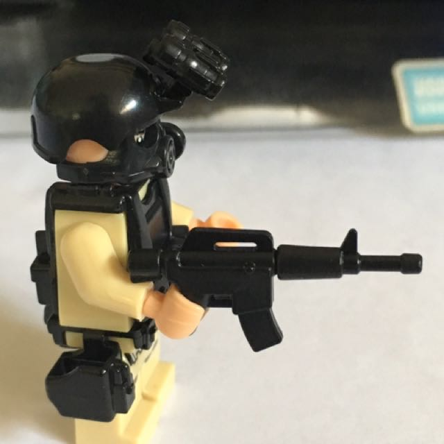 Lego Weapon For Police Military M16 Toys Games Bricks