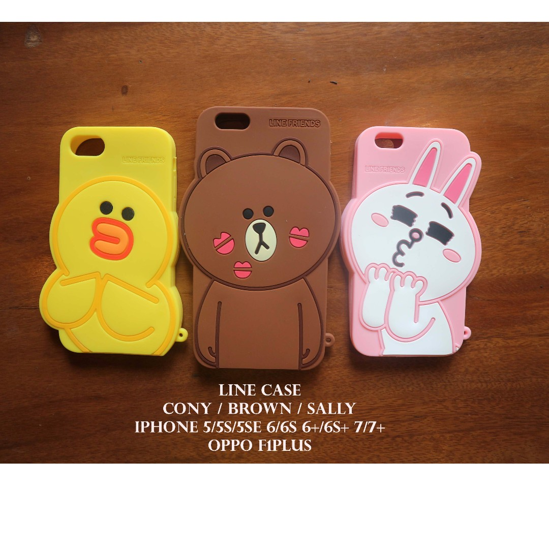 LINE CASE FOR IPHONE & OPPO