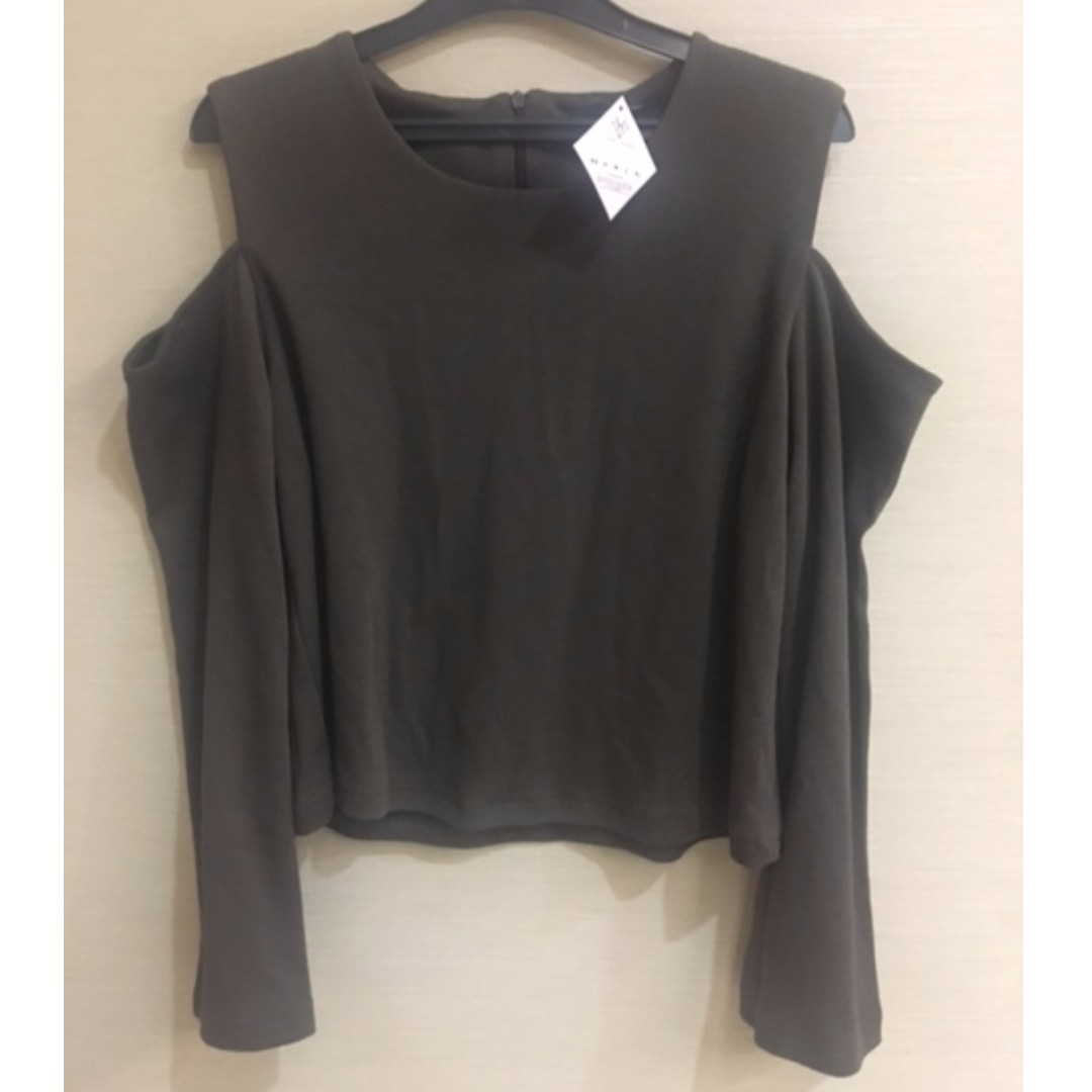 Love and Flair Olive Top size M