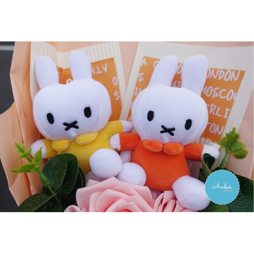 MIFFY BOUQUET WITH FREE GIFTS: DELIVERY WITHIN 24HRS