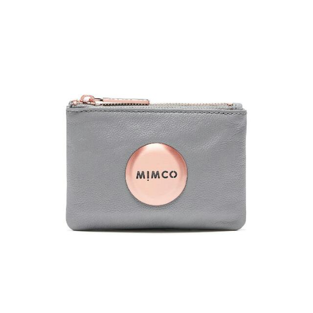 Authentic Mimco Concrete Small Pouches New Season