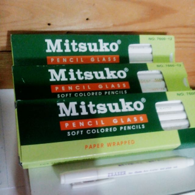 Mitsuko Soft Colored Glass Pencil