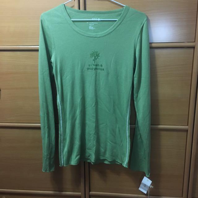 Naturals Macy's購入 草綠上衣