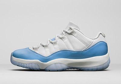 c16e0dfa03e Nike Air Jordan Retro 11 Low UNC Size US 8.5 University Blue White 528895- 106, Sports, Sports Apparel on Carousell