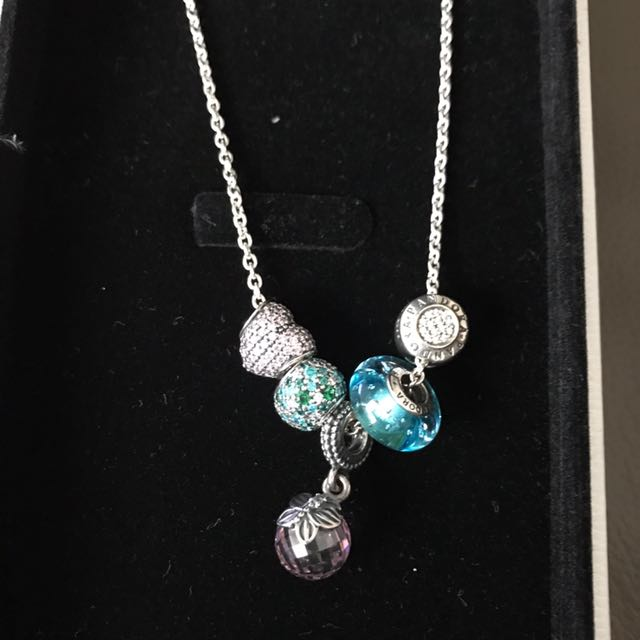 Pandora Custom Necklace