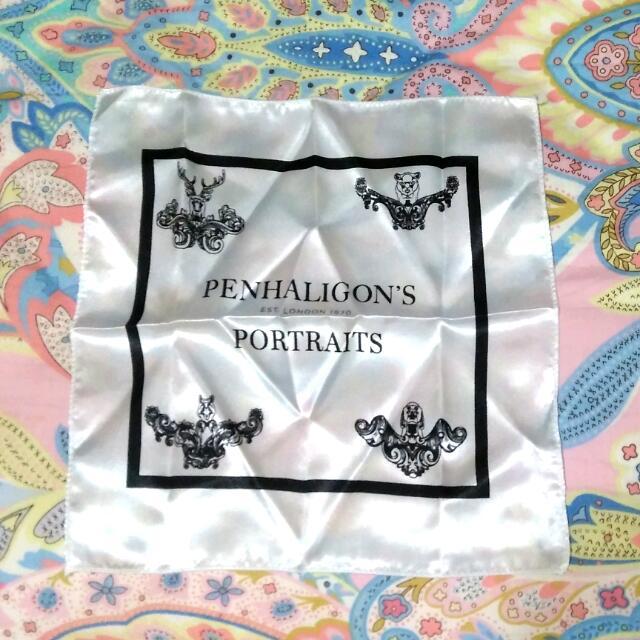 英國皇室香氛Penhaligon's經典絲綢手帕