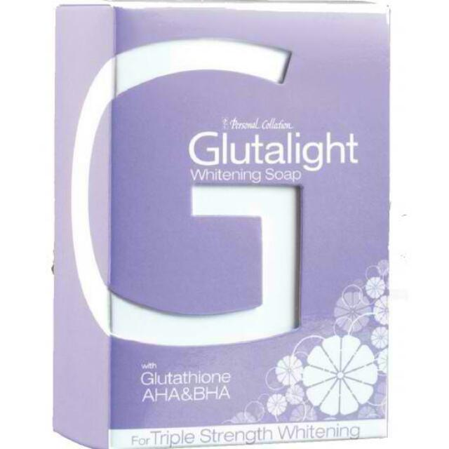 Personal Collection Glutalight soap