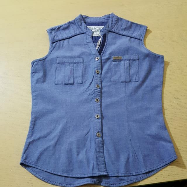 Petrol Denim Sleeveless