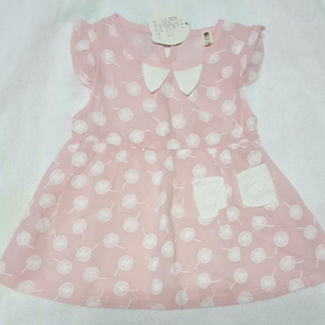 Pink Baby Dress 12 Mos. Old