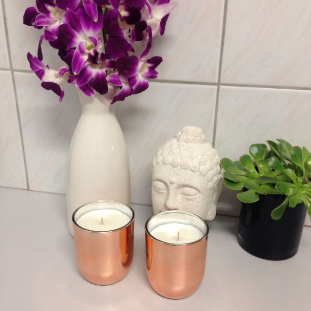 Pink Lychee Candles