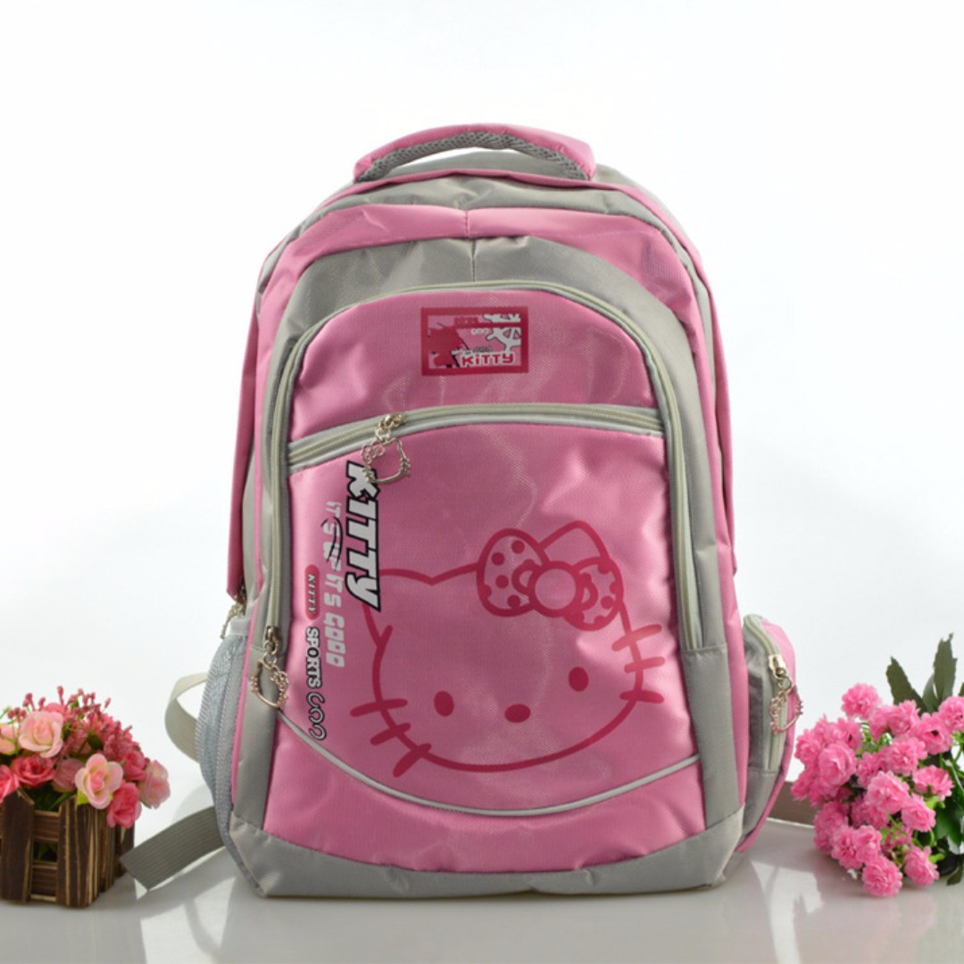 Pink Sanrio Hello Kitty Backpack 4598df2d85354