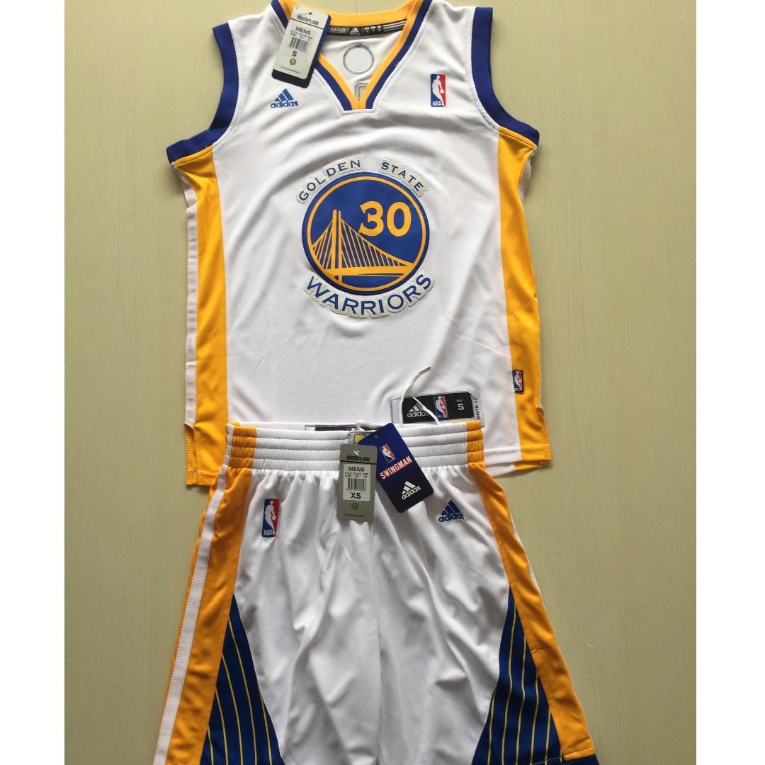 ccd7547a6267 PO  NBA Kids Golden State Warriors Stephen Curry Swingman Jersey ...