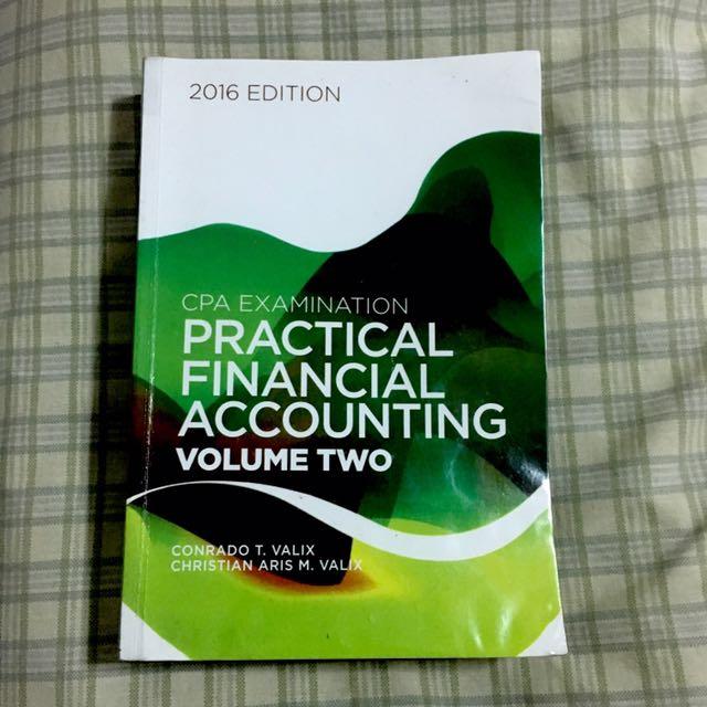 Practical Accounting Valix Vol.2