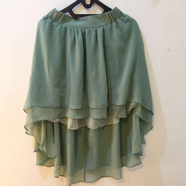 PRELOVED Assymetric Skirt